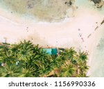 top view of beautiful white... | Shutterstock . vector #1156990336
