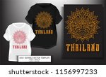 t shirt print design.thailand...   Shutterstock .eps vector #1156997233
