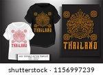 t shirt print design.thailand...   Shutterstock .eps vector #1156997239