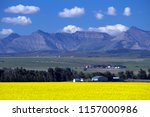 view of rural alberta and a... | Shutterstock . vector #1157000986