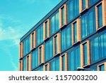 modern office building facade... | Shutterstock . vector #1157003200