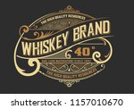 vinatage design for logo  label ... | Shutterstock .eps vector #1157010670