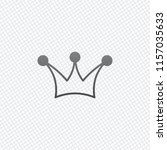 crown icon. on grid background