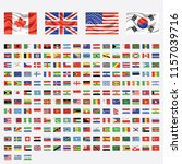 flags of the world   vector... | Shutterstock .eps vector #1157039716