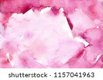 watercolor pink tactile... | Shutterstock . vector #1157041963