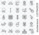 set of 25 transparent icons... | Shutterstock .eps vector #1157042929