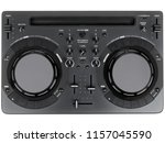 pro dj controller isolated on... | Shutterstock . vector #1157045590