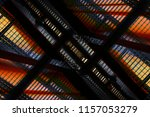 low angle view of colorful... | Shutterstock . vector #1157053279