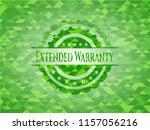 extended warranty realistic... | Shutterstock .eps vector #1157056216