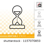 sand glass thin line icon.... | Shutterstock .eps vector #1157070853