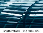 steel and glass architecture.... | Shutterstock . vector #1157083423