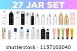 set vector blank templates... | Shutterstock .eps vector #1157103040