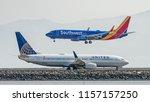 san francisco  california  ... | Shutterstock . vector #1157157250