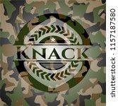 knack on camo texture | Shutterstock .eps vector #1157187580