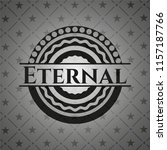 eternal black emblem | Shutterstock .eps vector #1157187766
