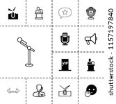 speech icon. collection of 13... | Shutterstock .eps vector #1157197840