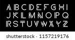 vector set. modern abstract... | Shutterstock .eps vector #1157219176