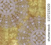 abstract pale  patterned lace ... | Shutterstock . vector #1157223220