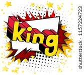 king   vector illustrated comic ...   Shutterstock .eps vector #1157224723