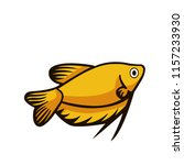 fish illustration icon | Shutterstock .eps vector #1157233930