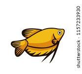 fish illustration icon | Shutterstock .eps vector #1157233930