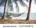 summer beach vacation concept ... | Shutterstock . vector #1157242873