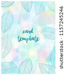 card templates pastel color...   Shutterstock .eps vector #1157245246
