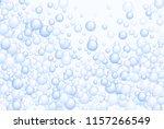 blue soap foam bubbles vector...   Shutterstock .eps vector #1157266549