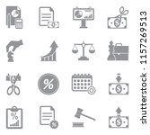 business and enterprise icons.... | Shutterstock .eps vector #1157269513
