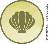 sea shell icon | Shutterstock .eps vector #1157276689