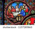 paris  france   january 09 ...   Shutterstock . vector #1157285863