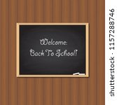 back to school. vector... | Shutterstock .eps vector #1157288746