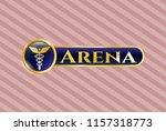 gold shiny emblem with...   Shutterstock .eps vector #1157318773