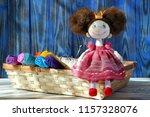 Textile Handmade Soft Doll...