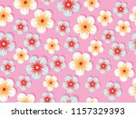 exotic sweet flower floral... | Shutterstock .eps vector #1157329393