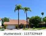 modern houses in the city of... | Shutterstock . vector #1157329669