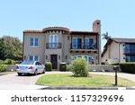 magnificent modern villas with ... | Shutterstock . vector #1157329696