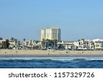 picturesque buildings in the... | Shutterstock . vector #1157329726