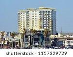 picturesque buildings in the... | Shutterstock . vector #1157329729
