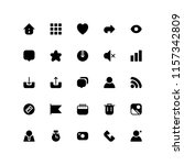 interface icons in for any...