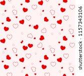 Heart Seamless Pattern.colorfu...