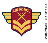 army badge logo with text space ... | Shutterstock .eps vector #1157345416