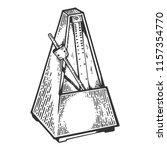 Metronome Tool Engraving Vecto...