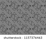 seamless pattern with striped... | Shutterstock .eps vector #1157376463