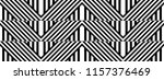 seamless pattern with striped... | Shutterstock .eps vector #1157376469