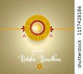 vector abstract for raksha... | Shutterstock .eps vector #1157428186
