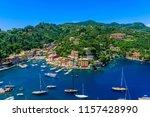 portofino  italy   colorful... | Shutterstock . vector #1157428990