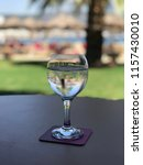 one glass of water | Shutterstock . vector #1157430010