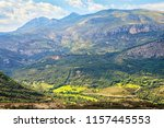 a view of the mountains near... | Shutterstock . vector #1157445553