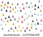 magic cool firs for christmas... | Shutterstock .eps vector #1157446150